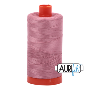 Aurifil Mako 12 2445 Victorian Rose