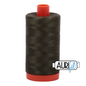 Aurifil Mako 12 5012 Dark Green