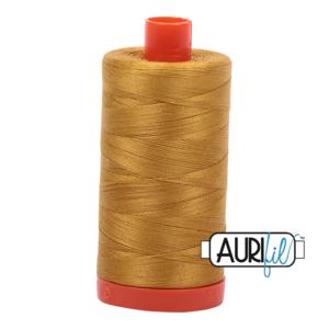 Aurifil Mako 12 5022 Mustard
