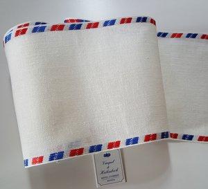 16 cm Antiek wit met Airmail randje