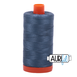Aurifil Mako 28 1310 BIG Medium Blue Grey