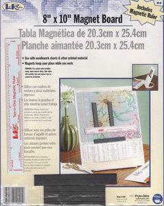 Magneet bord met liniaal 8 x 10 inch