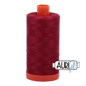 Aurifil Mako 28 1103 BIG Burgundy