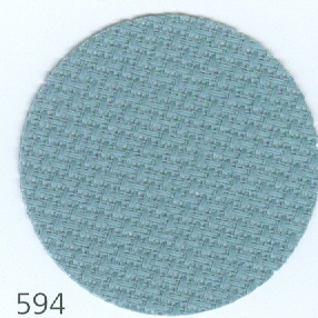 16 ct. Aida Smokey Blue