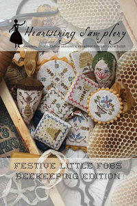 Festive Little Fobs 4 - Beekeeping Edition
