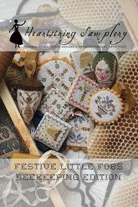 Festive Little Fobs 4 - Beekeeping Edition