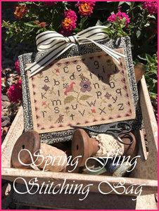 Spring Fling Stitching Bag