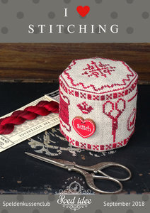 Speldenkussenclub XIX - I love Stitching