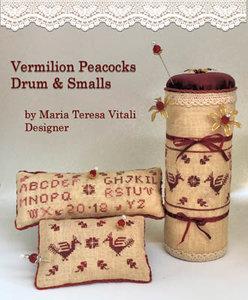 Vermilion Peacoks Drum & Small