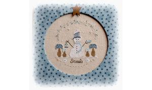 Snowly le petit bonhomme de neige - Fleurs de Lin