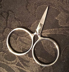 Silver Putford scissors