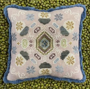 Winter Acorns- The Blue Flower
