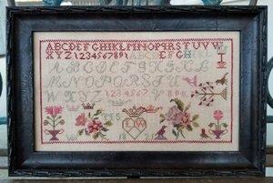 LW Motif Sampler 1821- Samplers Not Forgotten