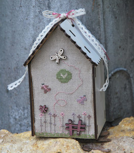 Mini Birdhouse Butterfly