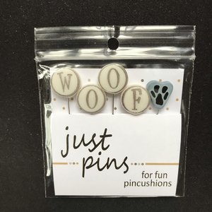 W is for WOOF pinset