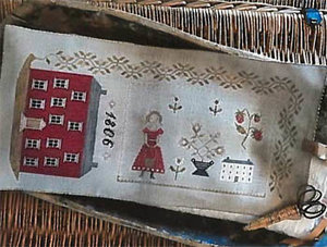 1806 Manor House Sewing Roll -Stacy Nash