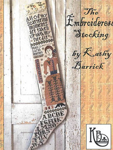 Embroideress Stocking- Kathy Barrick