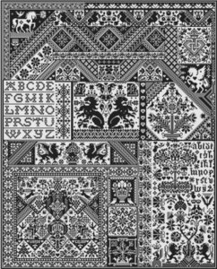 Death by Cross Stitch- Long Dog Samplers