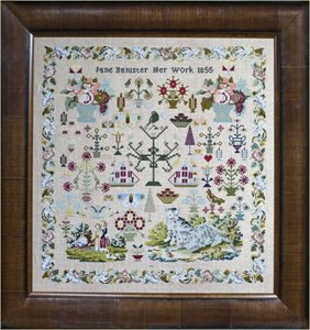 Jane Bannister 1855- Hands Across the Sea Samplers