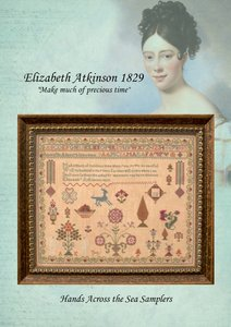 Eliza Atkinson 1829 - Hands Across the Sea Samplers