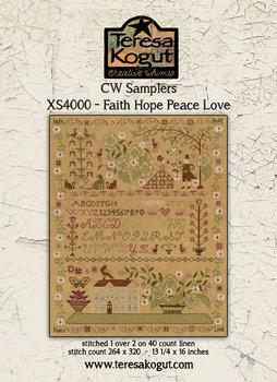 Faith Hope Peace Love-Teresa Kogut