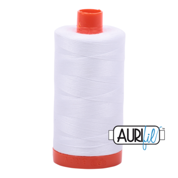 Aurifil Mako 28 2024 BIG White