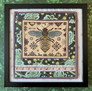 Quilting Bee - The Blue Flower
