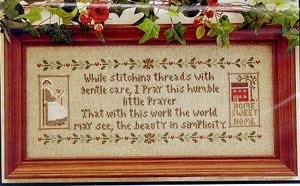 a stitchers prayer -lhn