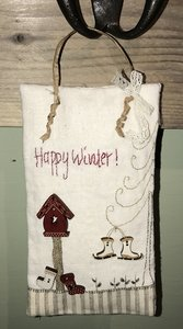 Kit Happy Winter Hanger