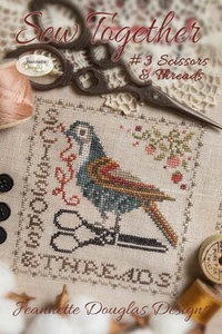 Sew Together #3 Scissors & Threads