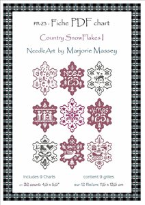 Country SnowFlakes I