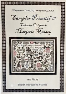 Sampler Primitif III - Marjorie Massey