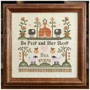 Bo Peep And Her Sheep