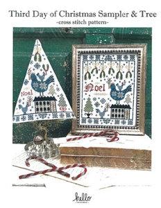 Third Day Of Christmas Sampler& Tree