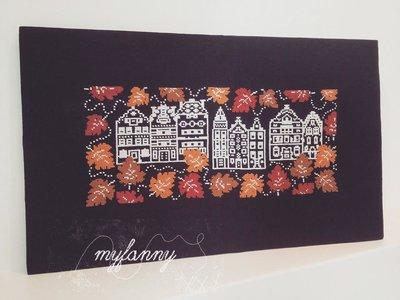 autumn stitching