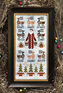 Eight Tiny Reindeer