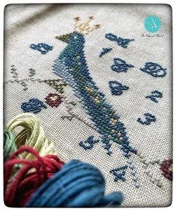 Royal Blue Bird  -The Elegant Thread