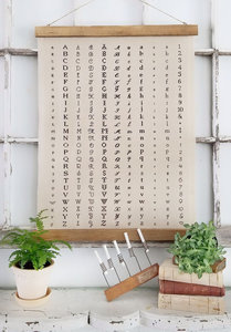 Engravers Chart