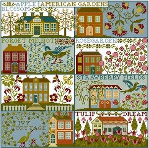 American Gardens  - Historische Stickmuster
