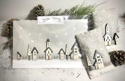 buttons Winter village