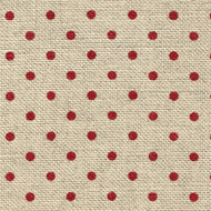 Petit Point naturel-rood 32 ct. Belfast 5391