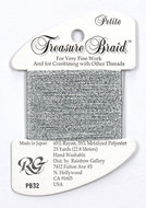 Petite Treasure Braid Silver Grey