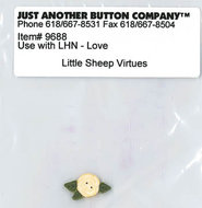 Little Sheep Virtue - 2. Love Buttonpack