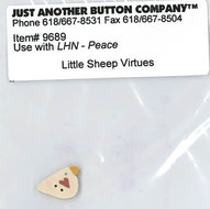 Little Sheep Virtue - 3. Peace Buttonpack