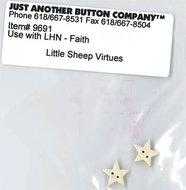 Little Sheep Virtue - 5. Faith Buttonpack