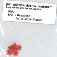Little Sheep Virtue - 11. Gratitude Buttonpack