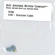 Frosty Forest 1. Raccoon Cabin buttonpack