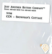 Frosty Forest 3. Snowman's Cottage buttonpack
