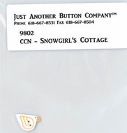 Frosty Forest 7. Snowgirl's Cottage Buttonpack