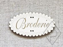 Broderie Ivoire